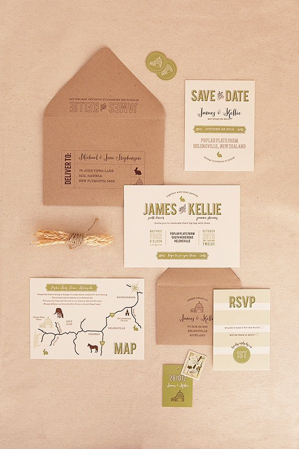 Wedding invitation #wedding #graphic