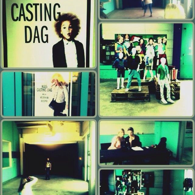 Kids casting day at WE Fashion HQ! It was a succes!