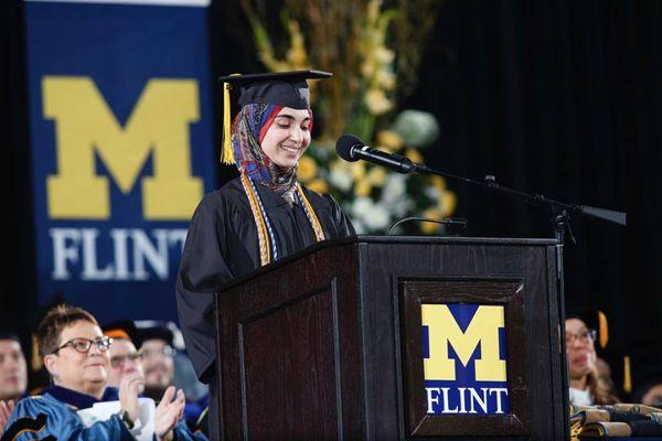 December 2015 Commencement Ceremony at University of Michigan-Flint: http://studyusa.com/en/blog/655/commencement-ceremony-at-university-of-michigan-flint #UMFlint #UMFlintIC #USeducation #studyabroad #graduation2015 #commencement2015