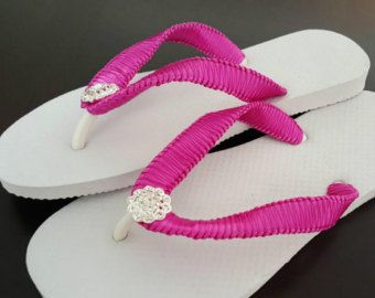 Chanclas rosas de las mujeres Slim Line Cariris Flip Flops