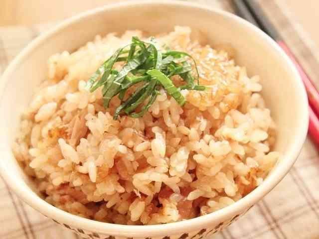 簡単美味☆ツナと梅の炊き込みご飯☆の画像