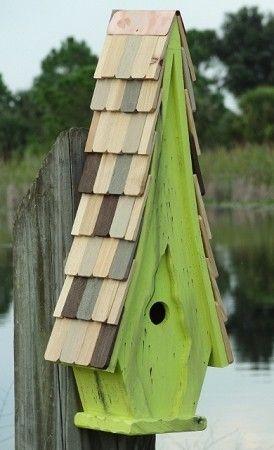 High Cotton Bird House-Select Color