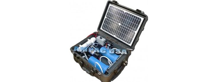 Solar Powered Portable Water Purification