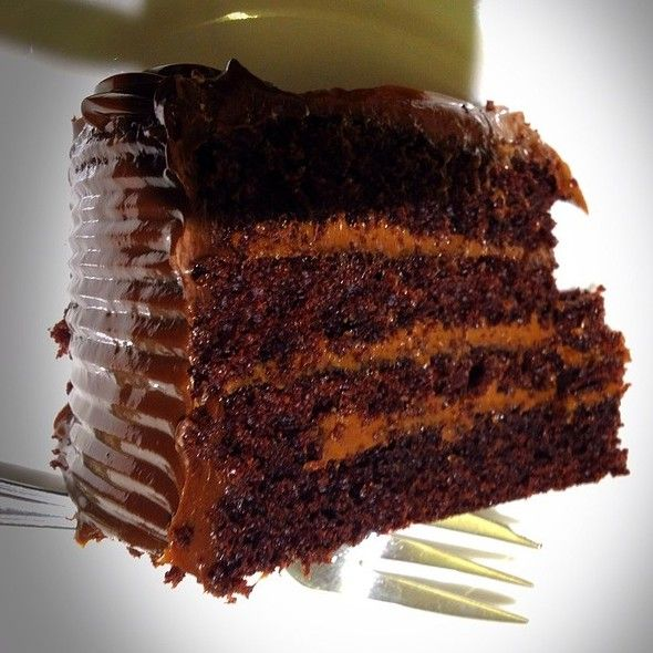 Spoon chocolate cake - Costa Rican dessert