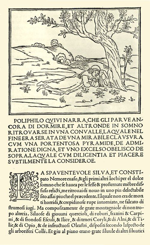 Hypnerotomachia Poliphili / 1499