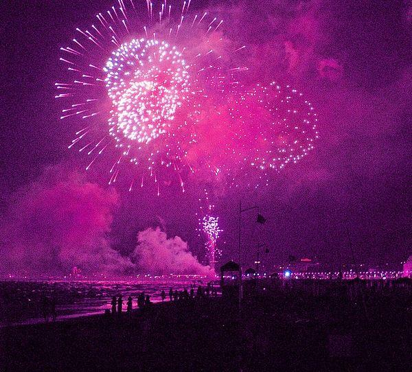 La notte rosa della Riviera Romagnola