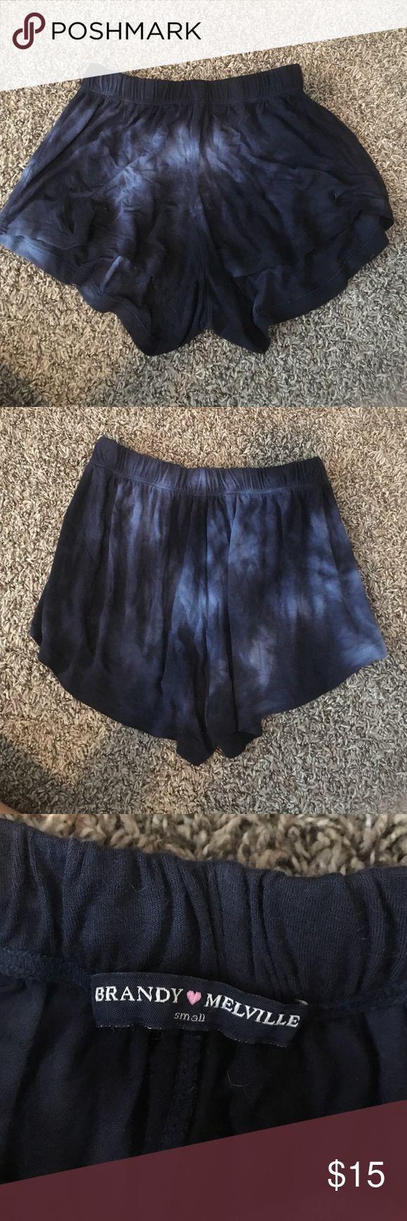 brandy Melville size small blue flowy shorts brandy Melville size small blue tye dye flowy shorts Brandy Melville Other