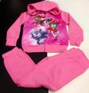Tuta con cappuccio PAW PATROL bambina 4 - 5 - 6 anni Nickelodeon | eBay