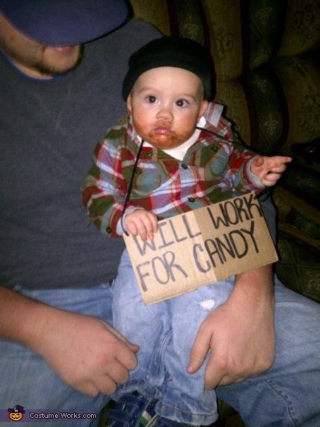 21 easy homemade costumes for babys first halloween - Baby Halloween Costumes Ideas