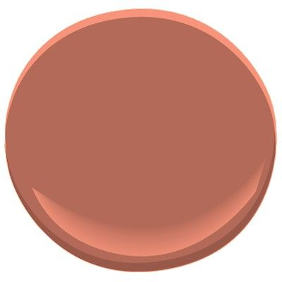 Benjamin moore baked terra cotta 1202 paint colors for Paint colors that go with terracotta