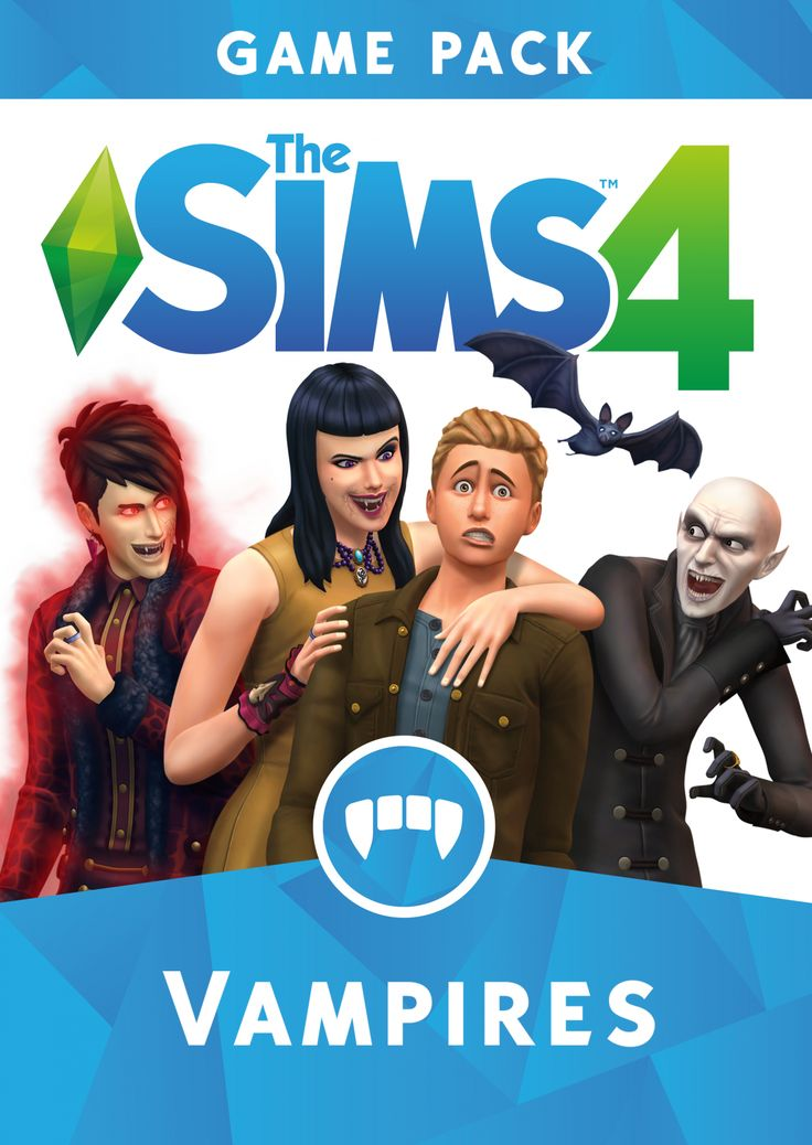 The Sims Team released the official assets for The Sims 4 Vampires Game Pack.