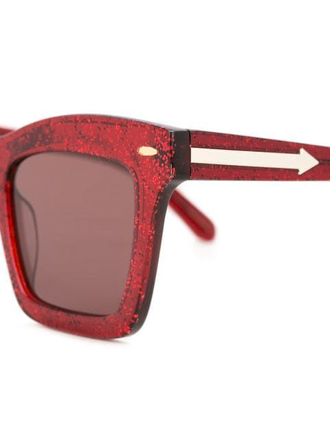 1a1732e135 Karen Walker Banks Glitter sunglasses