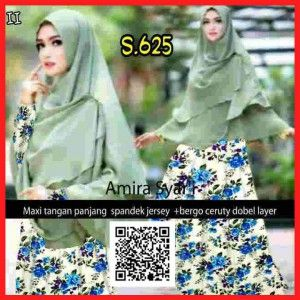 Baju Gamis Muslim Syari Remaja Amira Syari