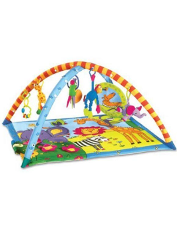 Tiny Love Super Deluxe Lights and Music Gymini Activity Gym   Good baby gear for small spaces