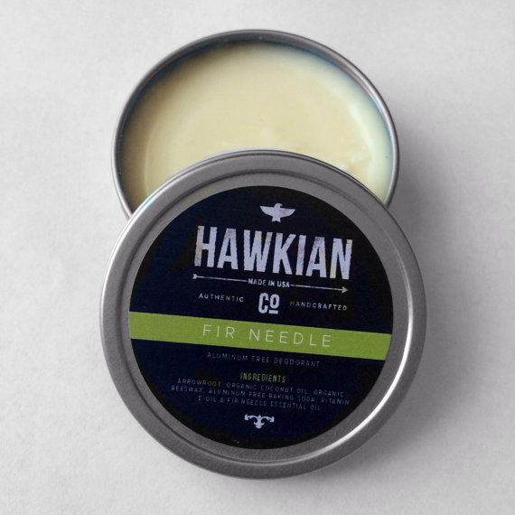 Deodorant Aluminum Free Deodorant All Natural by HawkianCo on Etsy, $8.50