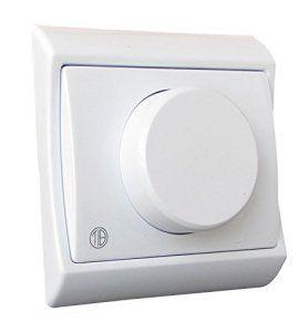 Tibelec 272220 Interrupteur-Variateur à encastrer