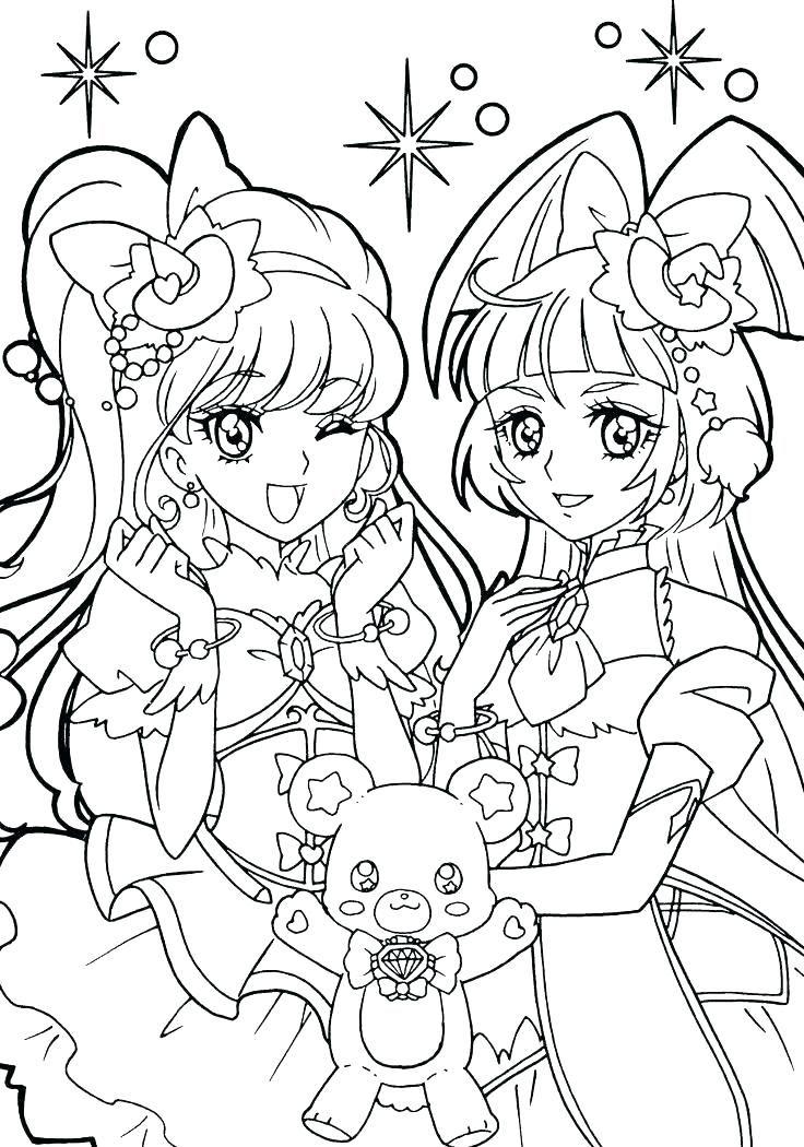 Manga Malvorlagen Zum Ausdrucken   Cartoon coloring pages ...