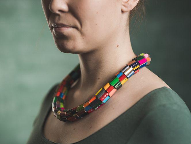 Lempiväri big necklace