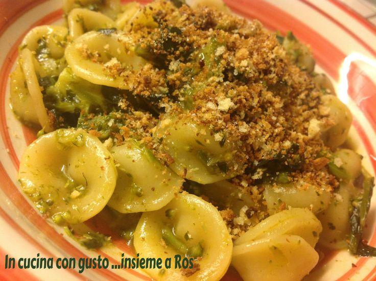 Orecchiette con broccoletti verdi ricetta facile