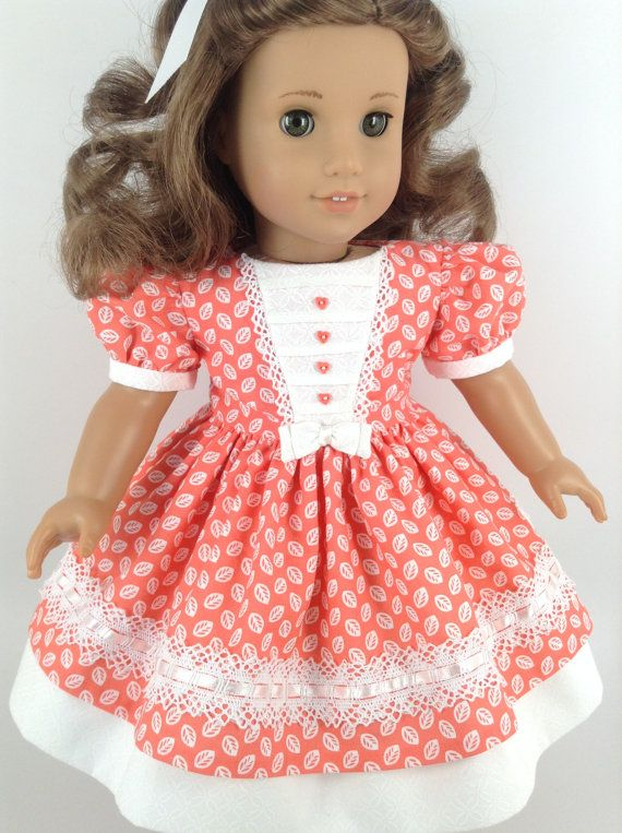 American Girl 18-inch Doll Clothes Mid-1800's by HFDollBoutique