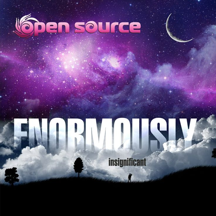 """After 2 years of making, Open Source proudly announces his upcoming """"ENORMOUSLY insignificant"""" solo album, including 9 new soulful tracks made out of extreme effort."""