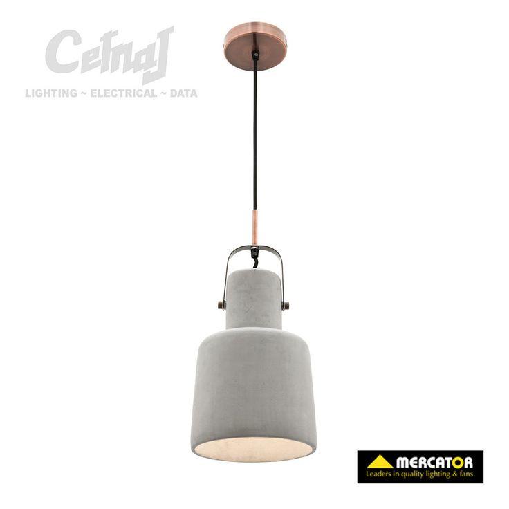 Albert concrete pendant cetnaj interior lightingcordsindustrial