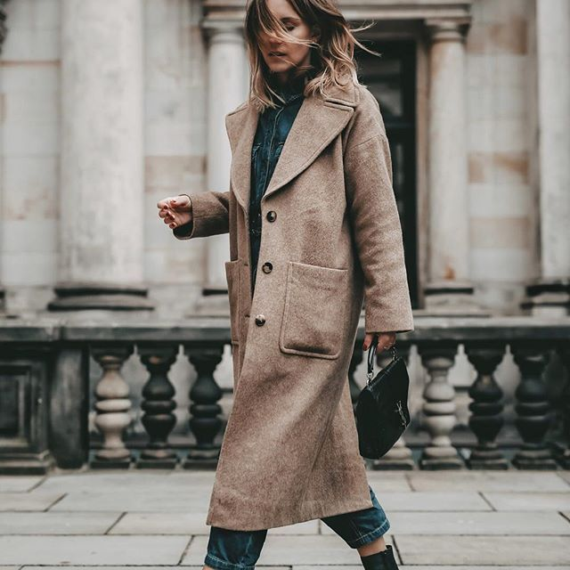brand new c0c46 e33f7 Streetstyle // brauner Mantel // mehr Outfit Inspirationen ...