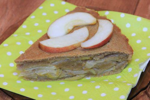 """Веганский яблочный пирог """"Шарлотка"""" (без яиц, без масла)"""