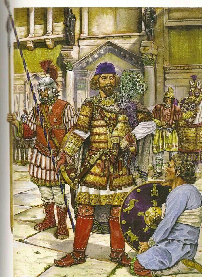 Byzantine officer, VII-VIII C. AD.
