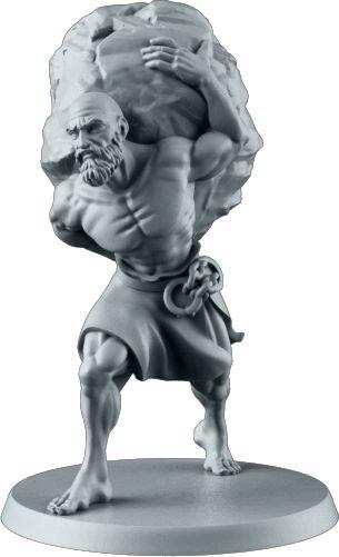 Sisyphus. Sculpted by Irek Zielinski