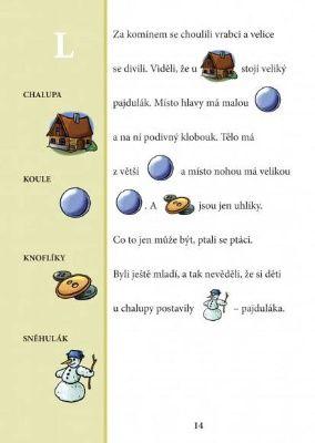 Logopedické pexeso a obrázkové čtení L-R-Ř | Albatrosmedia.cz