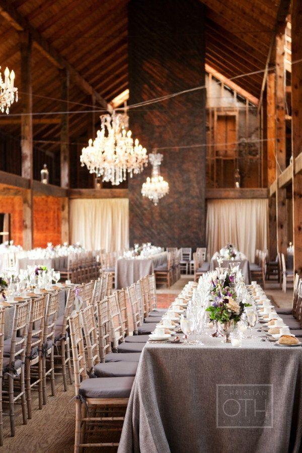 elegant rustic barn wedding