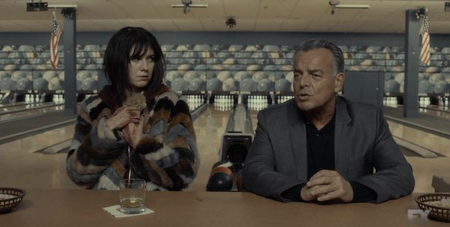 The Wandering Jew from Fargo, a man who appears when characters are in need of him, giving poetic advice - a spirit.
