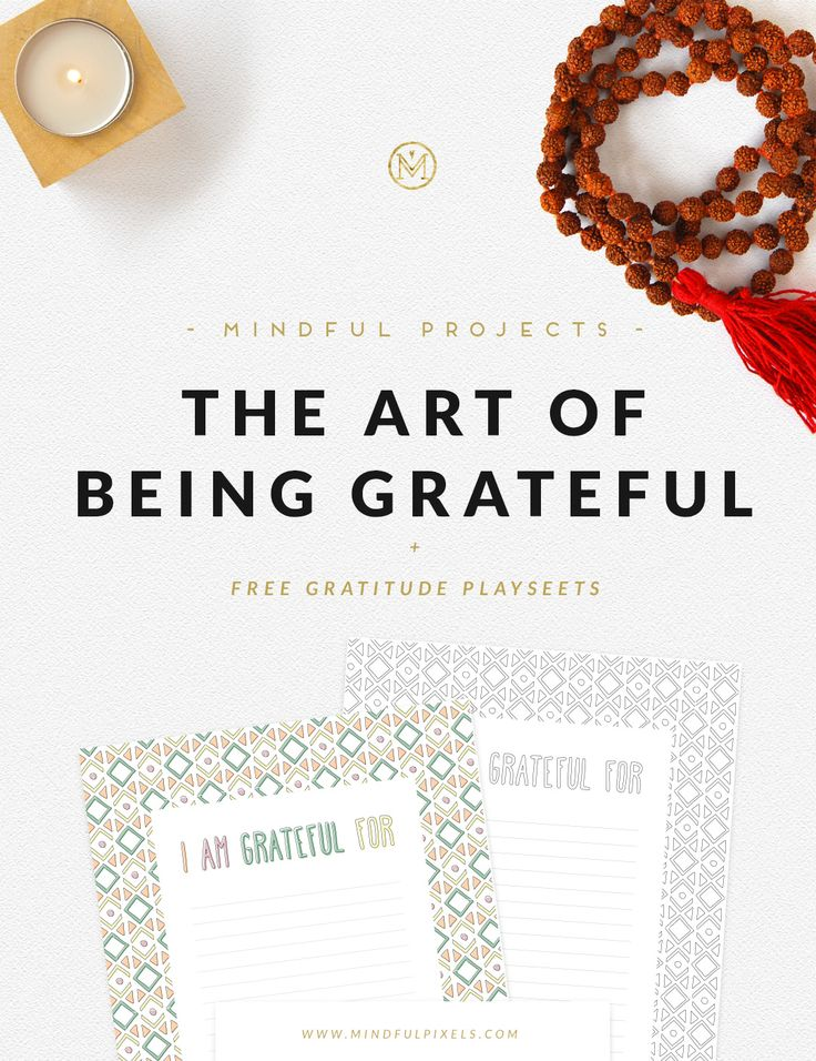 The Art of Being Grateful | Mindful Pixels