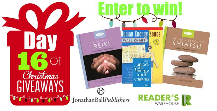 Day 16 of Christmas Giveaways sponsored by @JonathanBallPub is perfect for those who want to learn all about natural healing, or those who simply wish to brush up on their knowledge. Get your entries in: http://bit.ly/Day16Hamper
