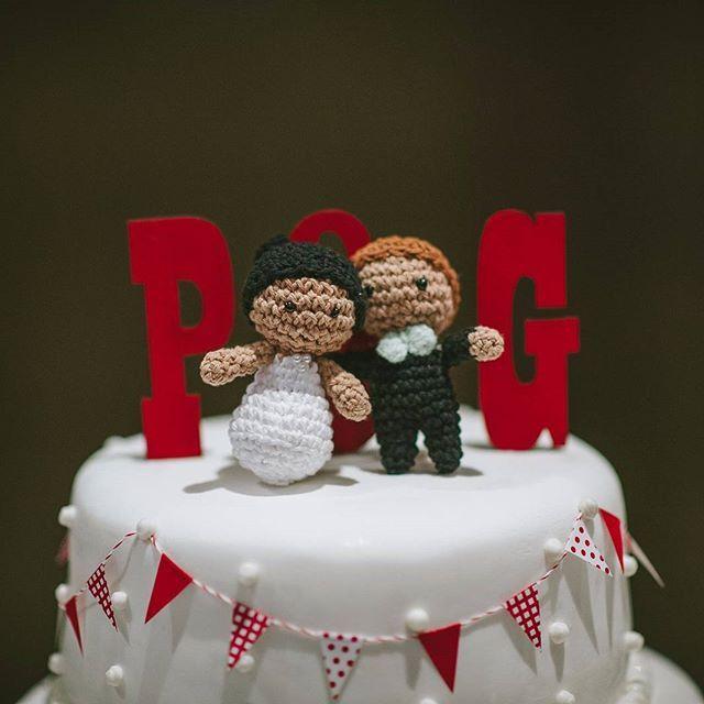 Llegaron las fotos oficiales de los novios! Qué emoción! ➖➖➖➖➖➖ . #casoriopatoyger #martinorozco #casamiento #boda #wedding #amigurumis #crochet #weddingcake #bride #groom #bridesmaids #fotógrafo #fotografía #entrematesyovillos & #torta