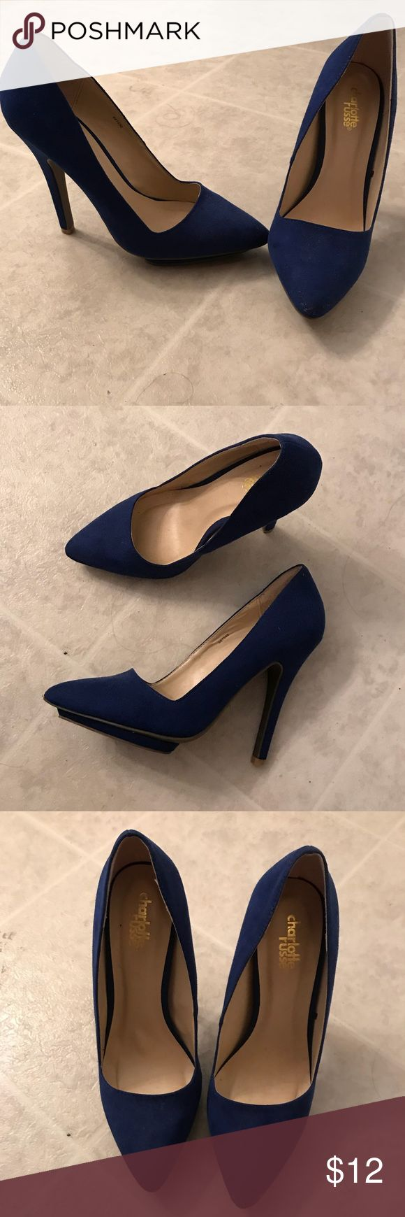 🦄ROYAL BLUE PUMPS!!! Royal blue pumps from Charlotte rouse.only worn a couple of times . Charlotte Russe Shoes Heels