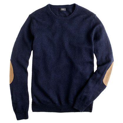"J. Crew slim slub merino crewneck sweater...Just My Hubby's Style...Simple, Comfy & I Bet The ""Feel"" Is Perfect....Love This!!"