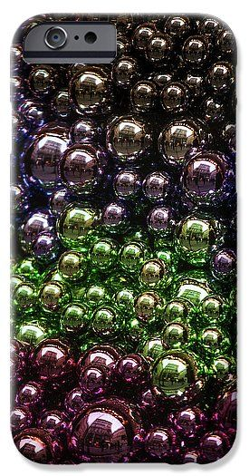 Jenny Rainbow Fine Art Photography IPhone 6s Case featuring the photograph Colorful Glittering Christmas Balls by Jenny Rainbow