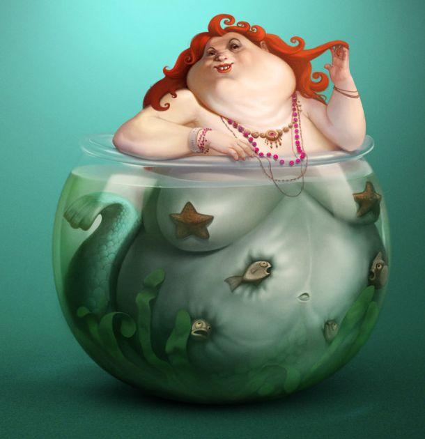 Sasha Gorec - My Home Mermaid hehe i love this one makes me smile