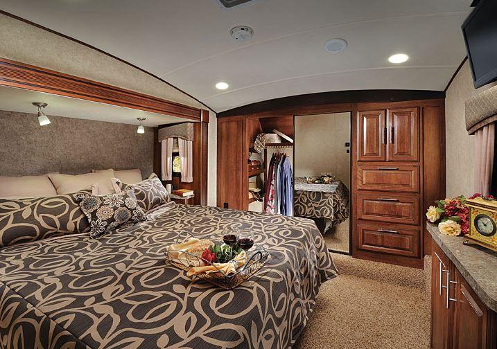 2015 Forest River Wildcat 327ck Master Bedroom Rv Interiors Pinterest Master Bedrooms
