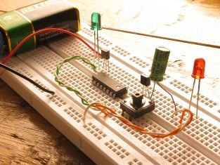 Make your breadboard circuits