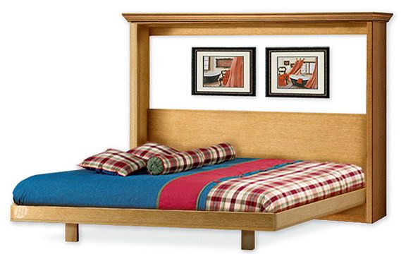 Easy Murphy Horizontal Bed Frame Queen Size Woodworking