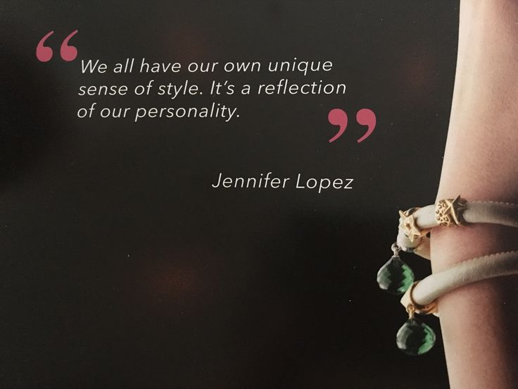 From the Jennifer Lopez Endless Collection