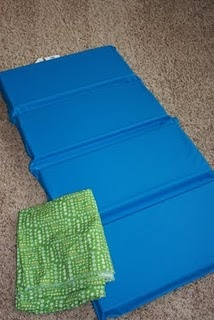 nap mat cover tutorial