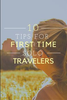 Realistic tips to help the first time solo traveler prepare for their expeditions. Traveling alone can be daunting but it doesn't have to be. Use these steps to travel with ease.  #travel #tips #solotravel