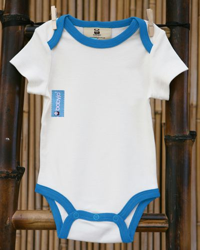 Bamboo baby jump suit.