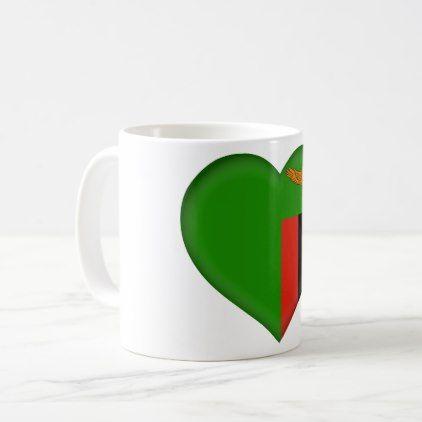Zambia Flag Coffee Mug - home gifts ideas decor special unique custom individual customized individualized