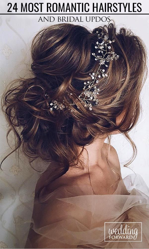 Most Romantic Bridal Updos & Wedding Hairstyles ❤ These romantic wedding hairstyles have a perfect balance of elegance and trendy, and are truly one of a kind. See more: http://www.weddingforward.com/romantic-bridal-updos-wedding-hairstyles/ #wedding #hai