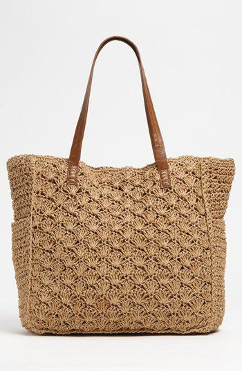 Straw Studios Crochet Tote | Nordstrom